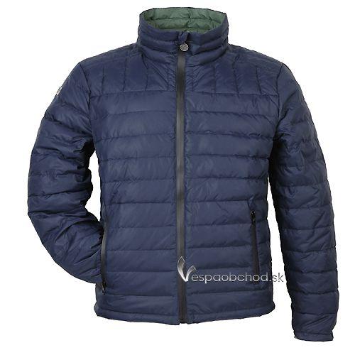 Pánska zimná bunda Vespa modrá f478e57679a