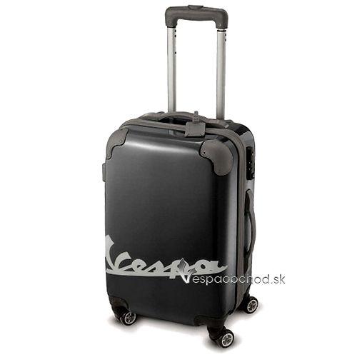 64553b3692544 Plastový cestovný kufor Vespa čierny